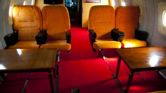 FOTO: Kā biznesa klase lidmašīnās izskatījās padomju savienībā? (Airplane business class in USSR)