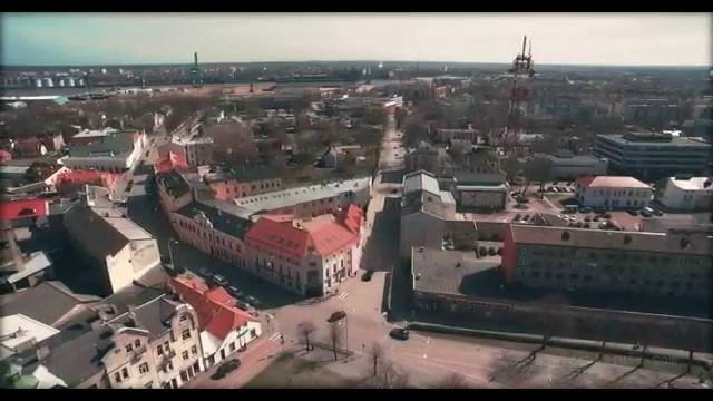 VIDEO: Mūsu skaistā Latvija! Ventspils no putna lidojuma! (Birds-eye view of Ventspils!)