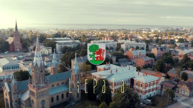 VIDEO: Pa smuko! Liepāja no putna lidojuma! (Birds-eye view of Liepaja!)