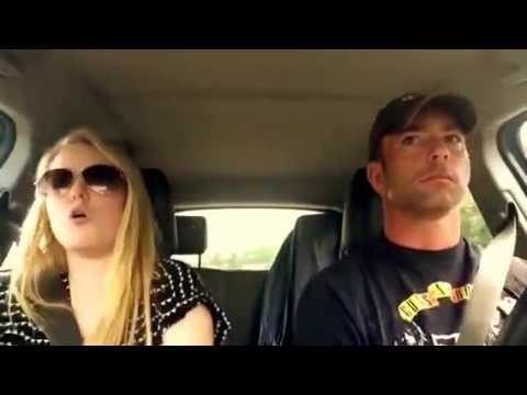 VIDEO: Tētis ar meitu zina, kā forši pavadīt laiku kopā! (Dad and Daughter road trip lip sync -Timber!)