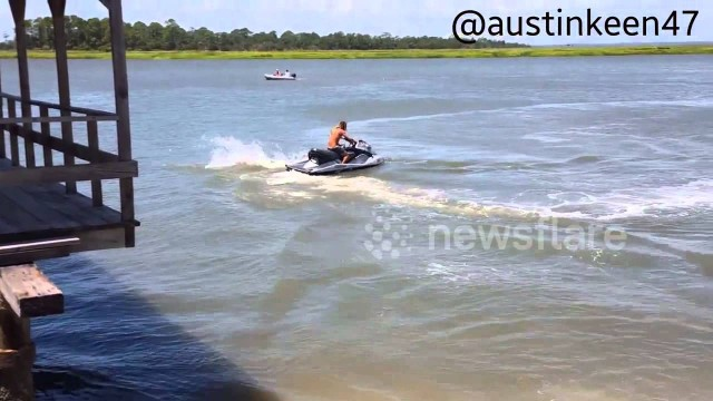 VIDEO: Kā ātri un ar stilu nozagt ūdensmotociklu? (How to steal a jet ski – Austin Keen)