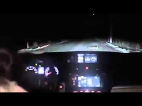 VIDEO: Noskaties video līdz galam! (NEVER stop your car in the middle of the night, in the middle of nowhere)