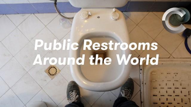 VIDEO: Kādas ir publiskās tualetes pasaulē? (Public Restrooms Around the World)