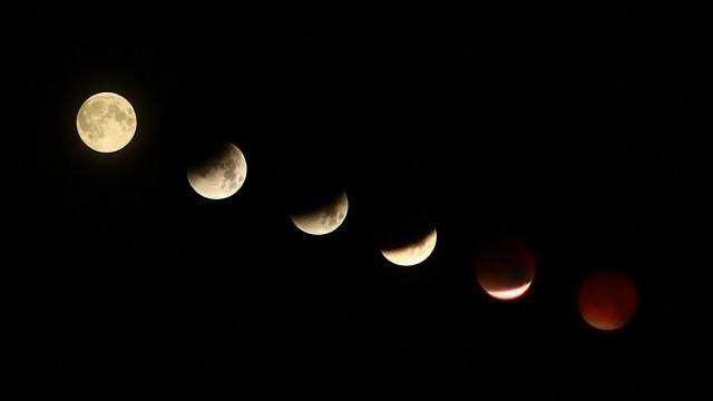 VIDEO: Latvietis nofilmējis šī rīta Mēness aptumsumu!