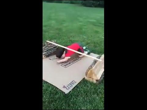 VIDEO: Mīlīgākā Nindzja Warrior trase! Vecāki – malači! (The cutest baby Ninja Warrior course ever?)