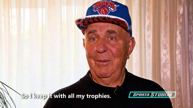 VIDEO: ASV mediji sajūsmā par video interviju ar Kristapa Porziņģa pirmo treneri Edvīnu Sprūdi!