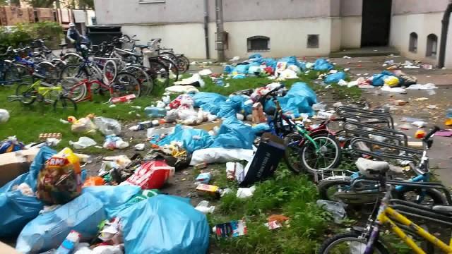 VIDEO: Kur patvēruma meklētāji Vācijā met savus atkritumus?