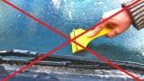 VIDEO: Noderīgi! Kā pāris sekundēs notīrīt automašīnas stiklu no ledus!?