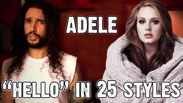 """VIDEO: Kā skanētu Adeles """"Hello"""", ja to izpildītu 25 citi izpildītāji un grupas!"""