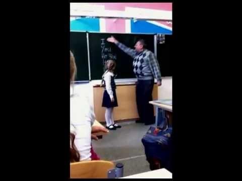 VIDEO: Kad padebīls skolotājs pazemoja šo mazo meitenīti, viņš negaidīja, ka viņa izdarīs ko TĀDU…