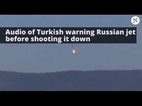 VIDEO: Turcija publicē audio, kurā dzirdams, ka Krievijas iznīcinātāji pirms notriekšanas tika brīdināti!