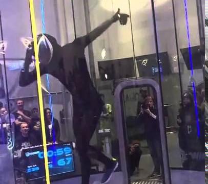 VIDEO: Lidot vēja tunelī? Vieglāk par vieglu! Bet vai tiešām!?