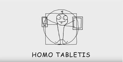 VIDEO: Homo Tabletis jeb Planšetbērns. Eksperti ceļ trauksmi!