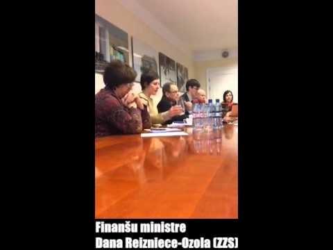 VIDEO: Bondars un LRA tikās ar finanšu ministri. Viņas teiktais politiķi pārsteidza!