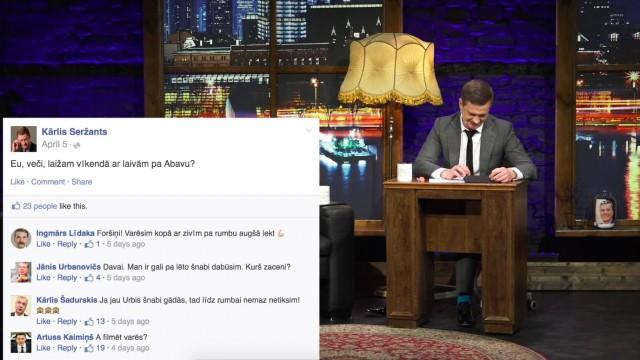 VIDEO: Feikais Facebook jeb kādi varētu izskatīties Saeimas deputātu sociālā tīkla ieraksti un komentāri!
