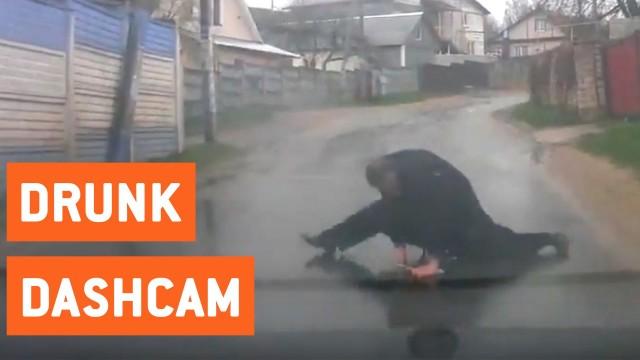 VIDEO: Interesanta piepumpēšanās tehnika jeb dīvainākais veids, kāpēc apturēt satiksmi!