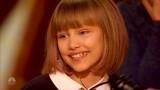 VIDEO: Žūrija šo meiteni nodēvēja par staigājošu brīnumu un nākamo Teilori Sviftu!