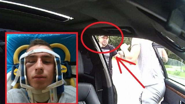 Sociālajos tīklos meklē īpaši agresīvu autovadītāju – nežēlīgu kausli, kurš piekāvis citu autovadītāju!