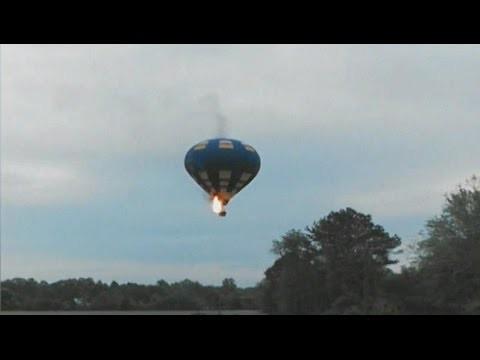 VIDEO: Vistraģiskākā gaisa balona avārija ASV vēsturē.. Bojā gājuši 16 cilvēki..