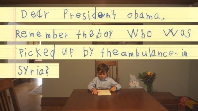 VIDEO: Aizkustinoša sešgadīgā Aleksa vēstule ASV prezidentam Obamam!