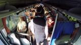 """VIDEO: CSDD kampaņas  """"Dzīvības josta"""" eksperiments autobusā!"""