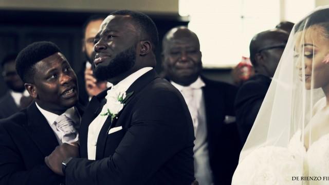 VIDEO: Līgavainis ieraugot līgavu nespēja valdīt asaras…