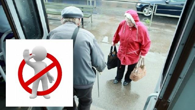 Vai pensionāriem aizliegs izmantot sabiedrisko transportu noteiktos laikos!?