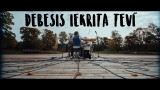 """VIDEO: Kolosāli! Linards no Siguldas rada dziesmas """"Debesis iekrita tevī"""" bungu koverversiju!"""