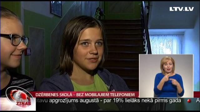 VIDEO: Latvijā ir skola, kurā vispār aizliegts izmantot mobilo telefonu! Skolēni neprotestē!