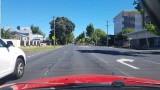 VIDEO: Sieviete šķērsoja gājēju pāreju, taču kāds šoferis nedomāja dot ceļu..