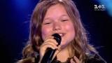 """VIDEO: Super! Desmitgadīgā Katrīna no Rīgas satriec Ukrainas """"Voice. Kids"""" žūriju un skatītājus!"""