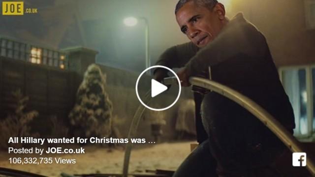 VIDEO: Kad pasaulslavena Ziemassvētku reklāma pārtop par ASV vēlēšanu parodiju…