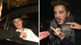 """VIDEO: Džastins Bībers iekrauj """"pa muti"""" savam fanam! Fana seja asinīs!"""