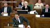 VIDEO: Kā Artuss Kaimiņš un Solvita Āboltiņa Saeimas plenārsēdēs apmainās laipnībām!