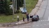 VIDEO: GTA Maskavas forštatē Rīgā jeb iereibis šoferis apskādē vairākus auto!