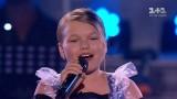 """VIDEO: Mazā Katrīna Paula veiksmīgi turpina dalību Ukrainas """"The Voice. Kids""""!"""
