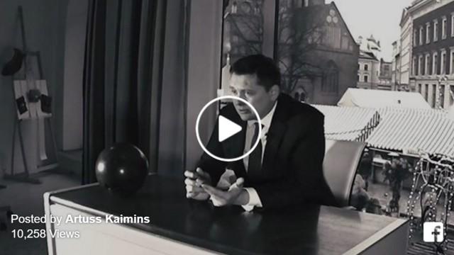 VIDEO: Artuss Kaimiņš Jaunā gada uzrunā aicina atrast atbildi uz VIENU jautājumu!