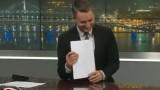 """VIDEO: Jānis Geste """"Panorāmā"""" nespēj apvaldīt smieklus un smejas, kā kutināts!"""