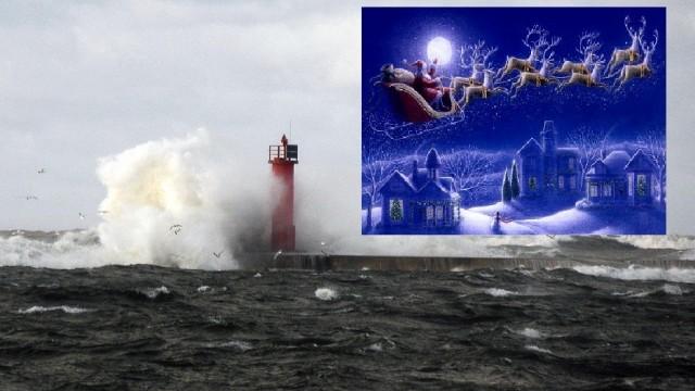 LVĢMC: Ziemassvētkos SNIEGA NEBŪS, bet iespējams gaidāma VĒTRA!
