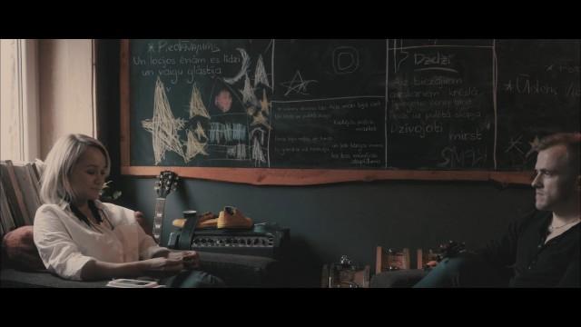 """VIDEO: Aija Andrejeva un Kārlis Būmeisters iedziedājuši kopīgu dziesmu """"Ēnas"""".."""
