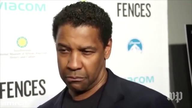 VIDEO: Holivudas aktieris Denzels Vašingtons samulsina žurnālisti ar savu atbildi..