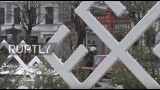 VIDEO: Krievijas televīzija apgalvo, ka Ziemassvētku tirdziņā Rīgā izvietota svastika!