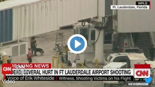 VIDEO: CNN ziņo par apšaudi Floridas lidostā! Nogalināti vismaz 5 cilvēki!