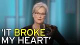 VIDEO: Iespaidīgā Merilas Strīpas runa, kuras laikā zālē valdīja kapa klusums..
