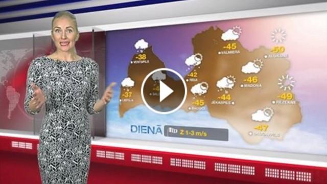 VIDEO: TV3 laika ziņas BRĪDINA – šodien Latvijā iestāsies LEDUS LAIKMETS!