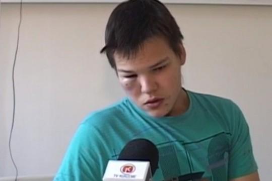 VIDEO: Nežēlīgi! Liepājā stundu laikā smagi piekauj 16 gadus vecu puisi!