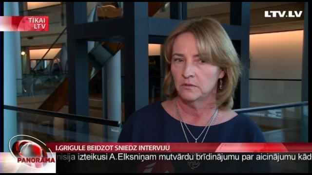 """VIDEO: """"Baiss cinisms un nekaunība"""" jeb cilvēki sašutuši par EP deputātes Ivetas Grigules interviju."""