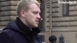 """VIDEO: Elksniņš pastāsta par to, kas notika komisijas sēdē no kuras Āboltiņa """"aizmuka""""…"""