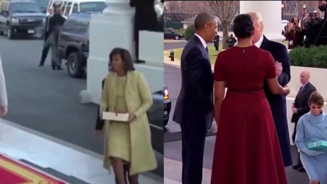 VIDEO: Epizode no Trampa inaugurācijas, kas liek uzdot jautājumus..