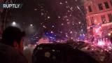 VIDEO: Vai Zviedrijā sācies karš!? Migranti Jaunā gada naktī uzrīkoja īstu pirotehnikas kauju!
